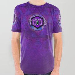 Purple Tribe1 All Over Graphic Tee