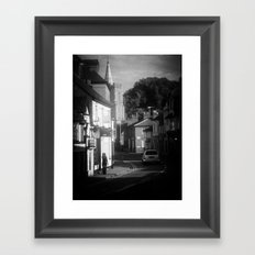 Little Street Framed Art Print
