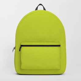 Spin Serve ~ Chartreuse Backpack