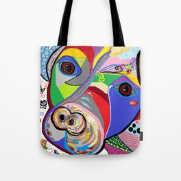 Pretty Pitty Pitbull Terrier Tote Bag