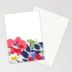 Flower draw Stationery Cards