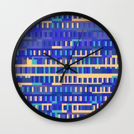 Beethoven Moonlight Sonata (Blues) Wall Clock
