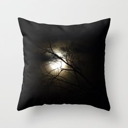 Once in A Blue Moon Throw Pillow