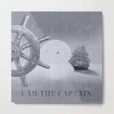 I am the captain Metal Print
