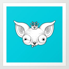 Royal Chi Art Print