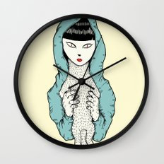 Strange Cathy Wall Clock