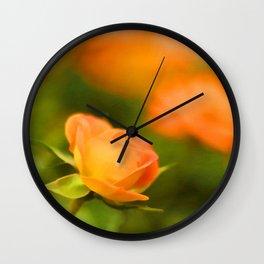 MS Rose Wall Clock