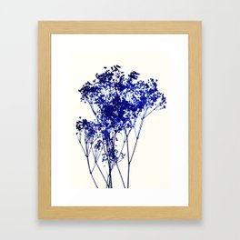 babys breath 1 Framed Art Print