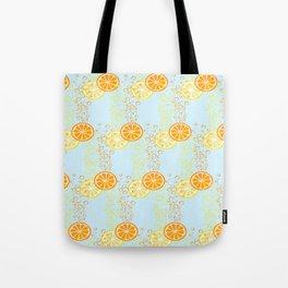 Orange & Lemon Fizz Tote Bag