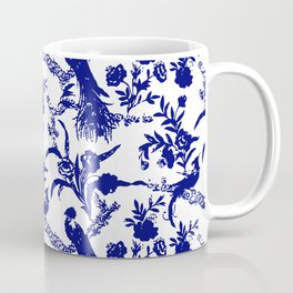 Royal french navy peacock Coffee Mug