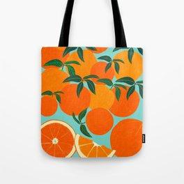 Orange Harvest - Blue Umhängetasche