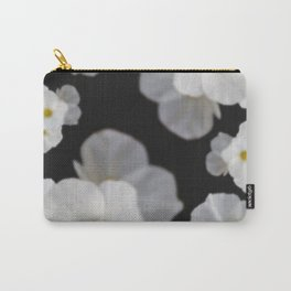 Dreaming white blossom flower Carry-All Pouch