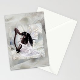 The Harpist Stationery Cards