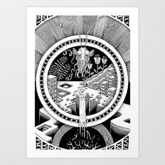 Macrocosmos Art Print