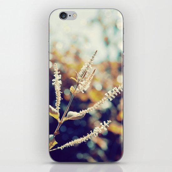 I sit in my garden, gazing upon a beauty that cannot gaze upon itself.   iPhone & iPod Skin