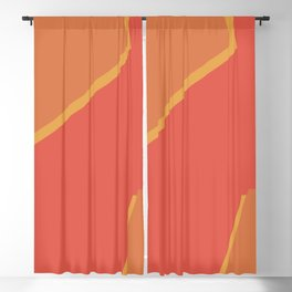 Pink and yellow Blackout Curtain
