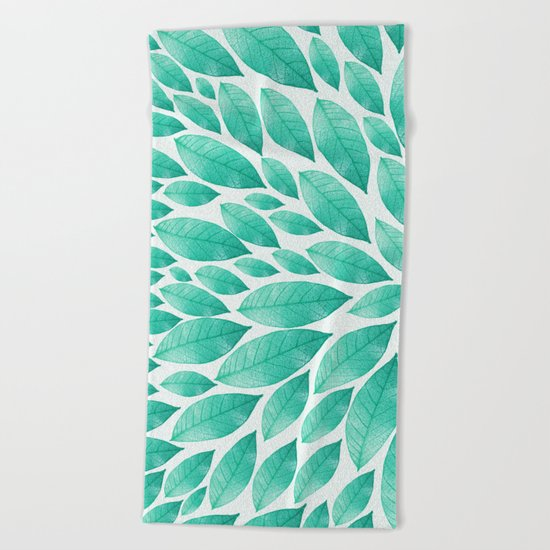 Petal Burst #12 Beach Towel