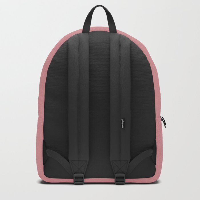 Lets See It All - Rosegold World Map Backpack