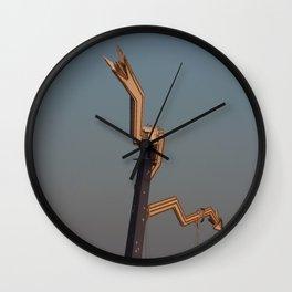 down, down Wall Clock