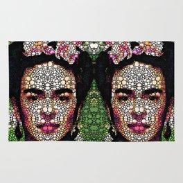 Frida Kahlo Art - Define Beauty Rug