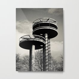 Casual Views Collection in NY. No 2. (Flushing Meadows, Queens) Metal Print