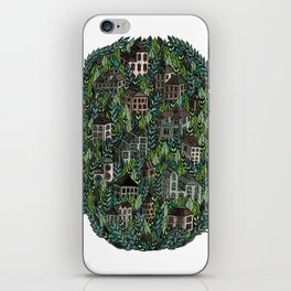 Little Forest Town iPhone Skin