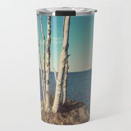 Trees on the Edge Travel Mug