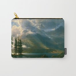 Scenery in the Grand Tetons by Albert Bierstadt Carry-All Pouch