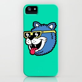 Cool Bear (portrait) iPhone Case