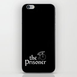 the prisoner iPhone Skin