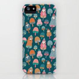 Pattern Project #49 / Mushroom Girls iPhone Case