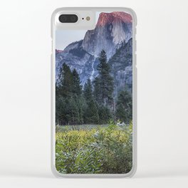 Light setting on Half Dome l Clear iPhone Case