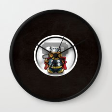 Super Bears - the Mighty One Wall Clock