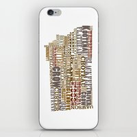 montana iPhone & iPod Skins featuring Montana by Madison Apple