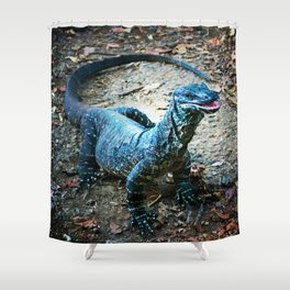 Lazy Lace Monitor Shower Curtain