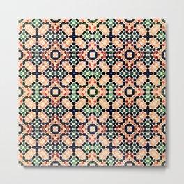 Moroccan Tile II Metal Print