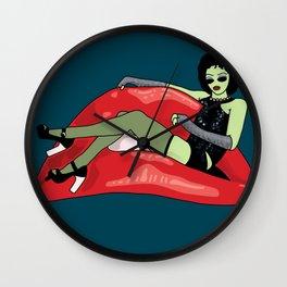 Rocky Horror Alien Show Wall Clock
