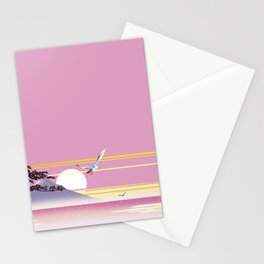 Seagull of morning Stationery Cards
