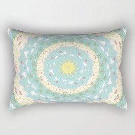 Eternal Beach Mandala Rectangular Pillow