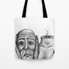 My head is pounding, I can't stop the pounding Tote Bag