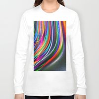 aurora Long Sleeve T-shirts featuring Aurora by David  Gough
