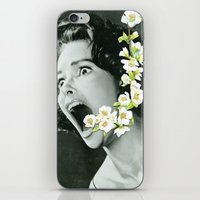scream iPhone & iPod Skins featuring Scream by Ben Giles
