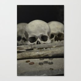 Penny for your thoughts Canvas Print