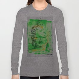 Buddha Green Long Sleeve T-shirt