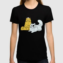 Navy Cats T-shirt