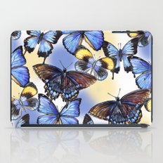 Pattern with butterflies iPad Case