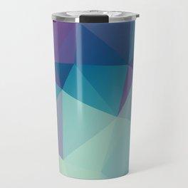 Contast2 –abstract polygram illustration Travel Mug