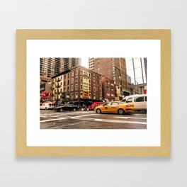 ArtWork New York City USA Art work photo Framed Art Print