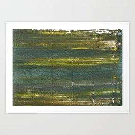 Dark green Art Print