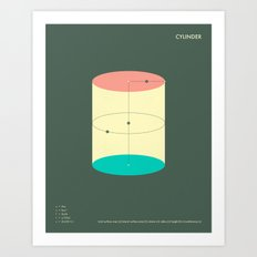 CYLINDER Art Print